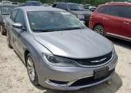 2015 CHRYSLER 200 LIMITE #1316032160