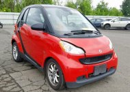 2009 SMART FORTWO PUR #1343099278