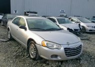 2005 CHRYSLER SEBRING TO #1364414680