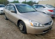 2005 HONDA ACCORD LX #1394826892