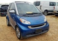 2008 SMART FORTWO PAS #1435650225