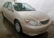 2002 TOYOTA CAMRY LE #1447206732