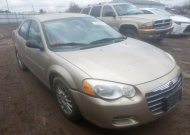 2004 CHRYSLER SEBRING LX #1525457132