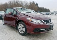 2014 HONDA CIVIC LX #1528498215