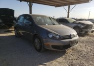 2012 VOLKSWAGEN GOLF #1610380128