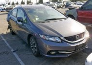 2015 HONDA CIVIC EXL #1325754599
