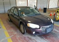 2004 CHRYSLER SEBRING LX #1328118603