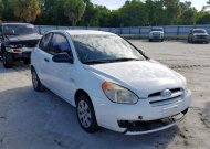 2008 HYUNDAI ACCENT GS #1342553543