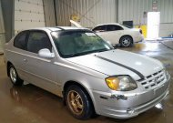 2005 HYUNDAI ACCENT GS #1343140049