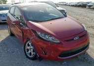 2011 FORD FIESTA SES #1396924783
