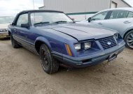 1984 FORD MUSTANG GL #1455524903