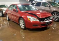 2007 HONDA ACCORD EX #1480738549