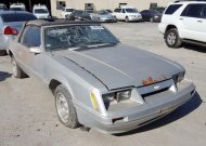 1986 FORD MUSTANG LX #1480743256