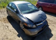 2007 HONDA CIVIC LX #1558465929