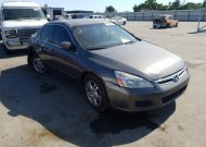 2006 HONDA ACCORD EX #1578512686