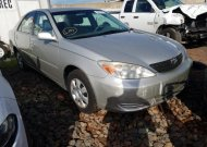 2004 TOYOTA CAMRY LE #1582001873