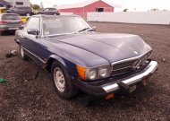 1982 MERCEDES-BENZ 380 SL #1603020316