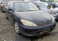 2002 TOYOTA CAMRY LE #1308243594