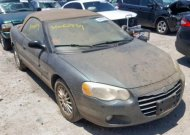 2004 CHRYSLER SEBRING LX #1323899287