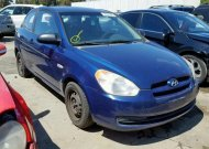 2008 HYUNDAI ACCENT GS #1326920397