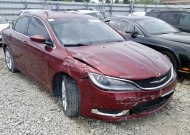 2016 CHRYSLER 200 LIMITE #1327547667