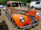1940 FORD COUPE #1376229494