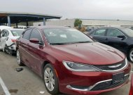 2016 CHRYSLER 200 LIMITE #1393169957