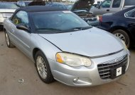2004 CHRYSLER SEBRING LX #1521763694