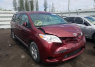 2017 TOYOTA SIENNA LE #1552470647