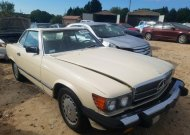 1986 MERCEDES-BENZ 560 SL #1578036941