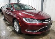 2015 CHRYSLER 200 LIMITE #1651760777