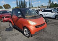 2008 SMART FORTWO PAS #1680345014